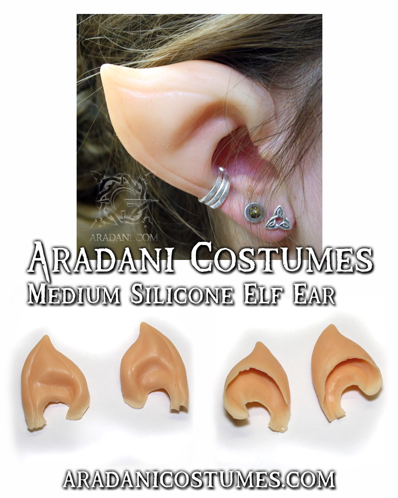 Medium sized silicone ears by mbielaczyc