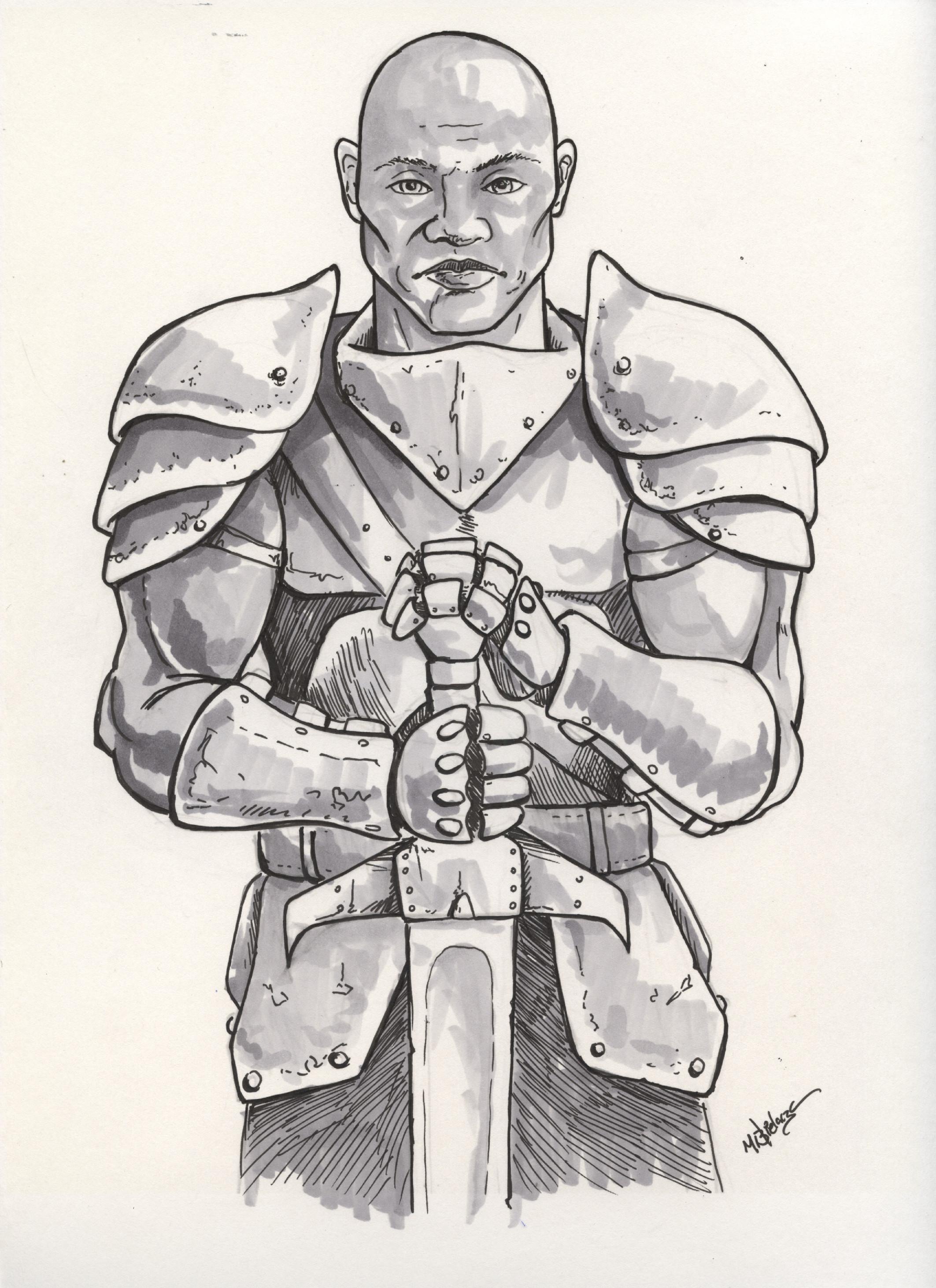 Lorthain the Archeon by mbielaczyc