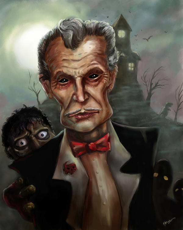 Vincent Price by mbielaczyc