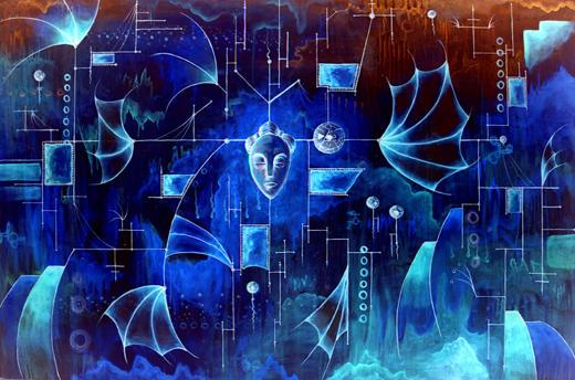Meditation: Negative Space by mbielaczyc