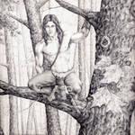 Jyrek the Wilde Elf Druid
