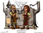 Male and Female Gnome