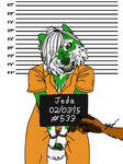 How not to have a Mugshot Taken (NOT MY ART) by DavianJWolfe