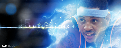 Carmelo Anthony by jam1eee