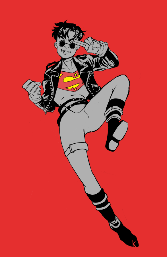 Superboy by Peek-aBoo