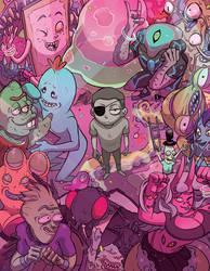 Evil Morty by MatchaEle