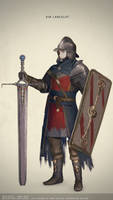 The Legend of King Arthur: Sir Lancelot by l-aciel