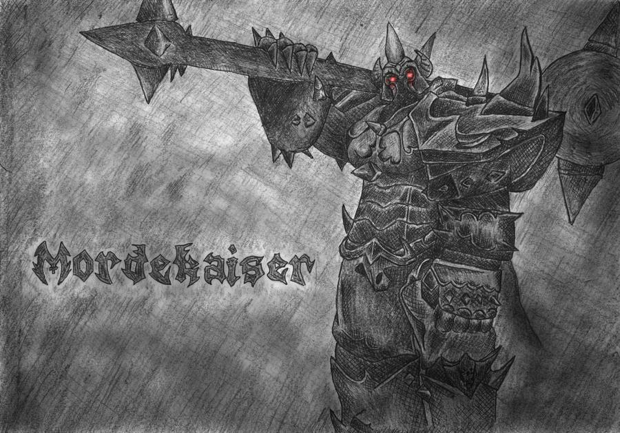 League of Legends: Mordekaiser by NaFazieJezus