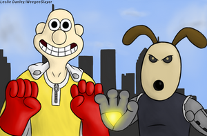 Wallace and Gromit the professional heroes by weegeeslayer101
