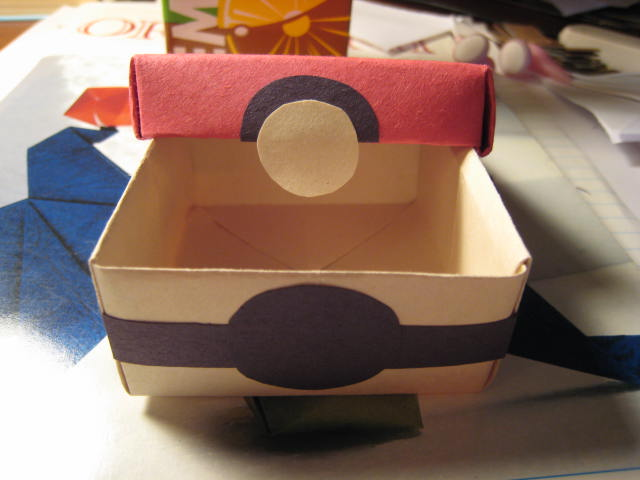 Pokeball Box By XXxSashimixXx