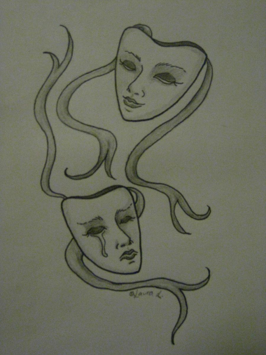 tattoo design masks by hypoglossal on deviantart. Black Bedroom Furniture Sets. Home Design Ideas