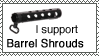 Support Barrel Shrouds - Stamp by 5-7x28mm