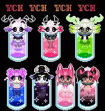Drinks Please Ych - OPEN by Panda-Pill