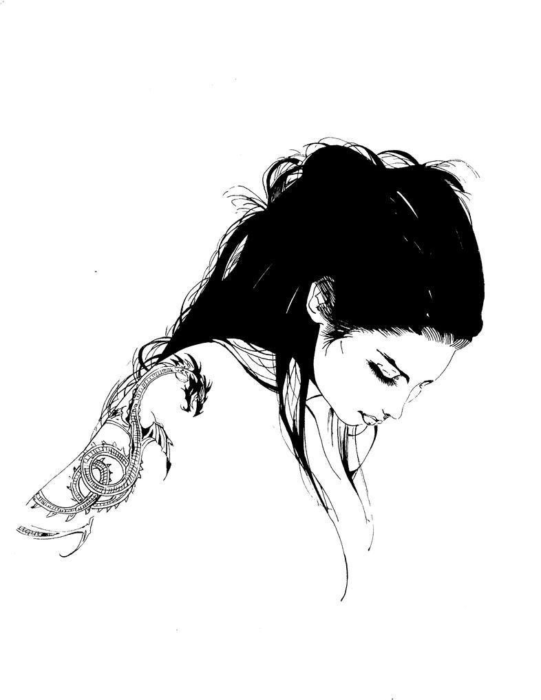 inks over blasterkids voodoo by UltimateInker
