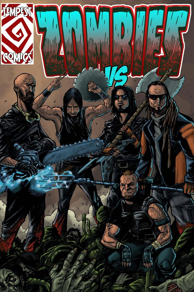 Possible Five Finger Death Punch Comic cover by UltimateInker