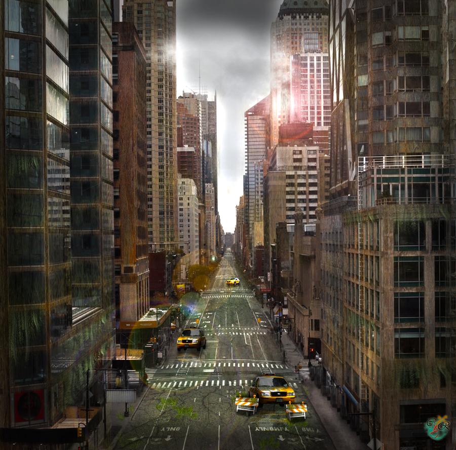 Zombie apocalypse by chibidesuu