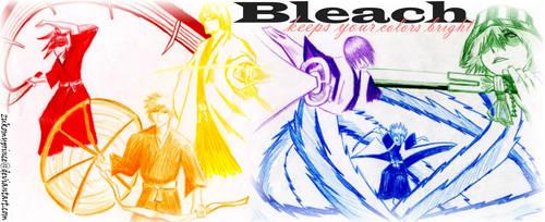 Bleach Colors by zukomyprince