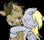 Derpy x Doctor Hug