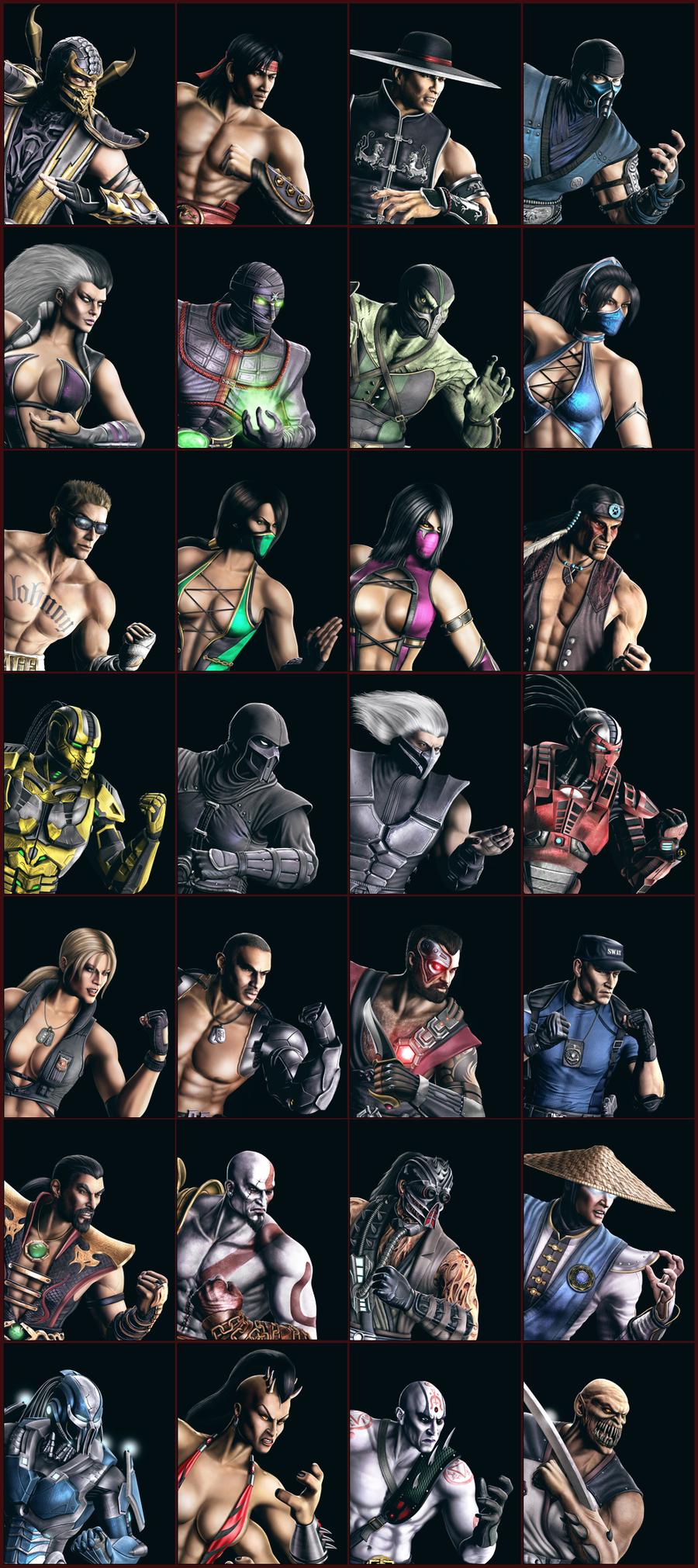 Mortal Kombat 9 Komplete Edition - Mileena Victory Pose
