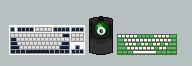 My Keyboards by math0ne