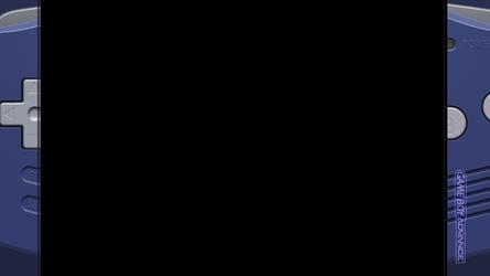 Retroarch / Rocket Launcher Game Boy Advance Bezel by math0ne