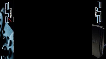 Retroarch / Rocket Launcher Playstation 2 Bezel by math0ne