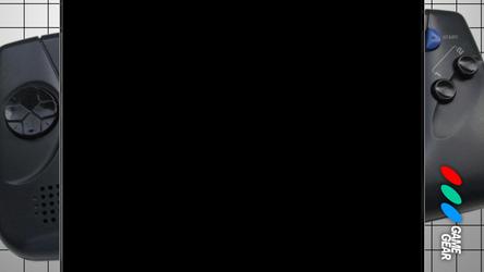 Retroarch / Rocket Launcher Game Gear Bezel by math0ne