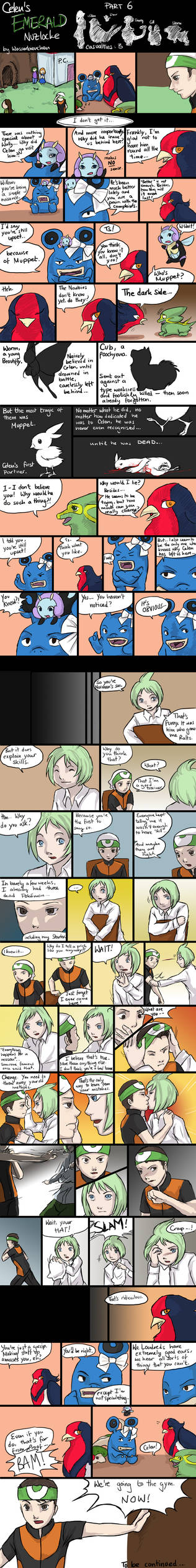 Celen's Nuzlocke: Part 6