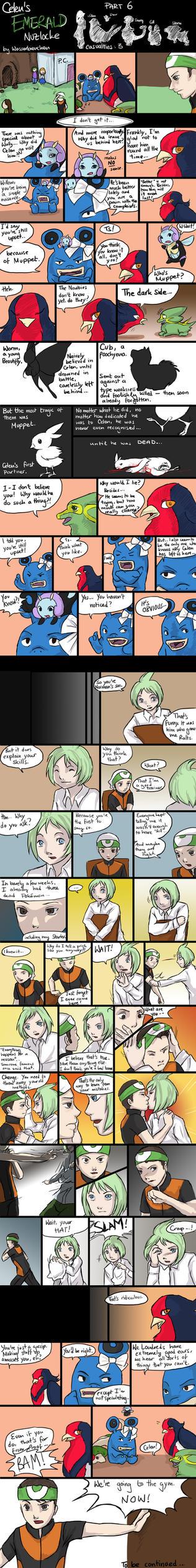 Celen's Nuzlocke: Part 6 by Wasserbienchen