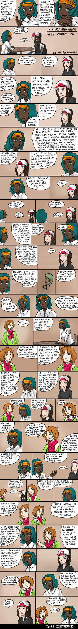 IBAW 14: Chitchat 1 by Wasserbienchen