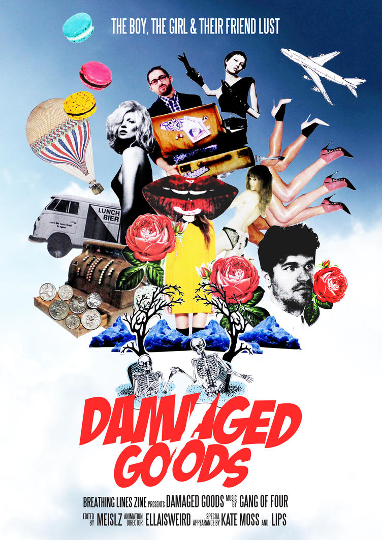 DAMAGED GOODS by Retro2goddess