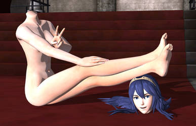 Lucina in the raw by DangerEngineer