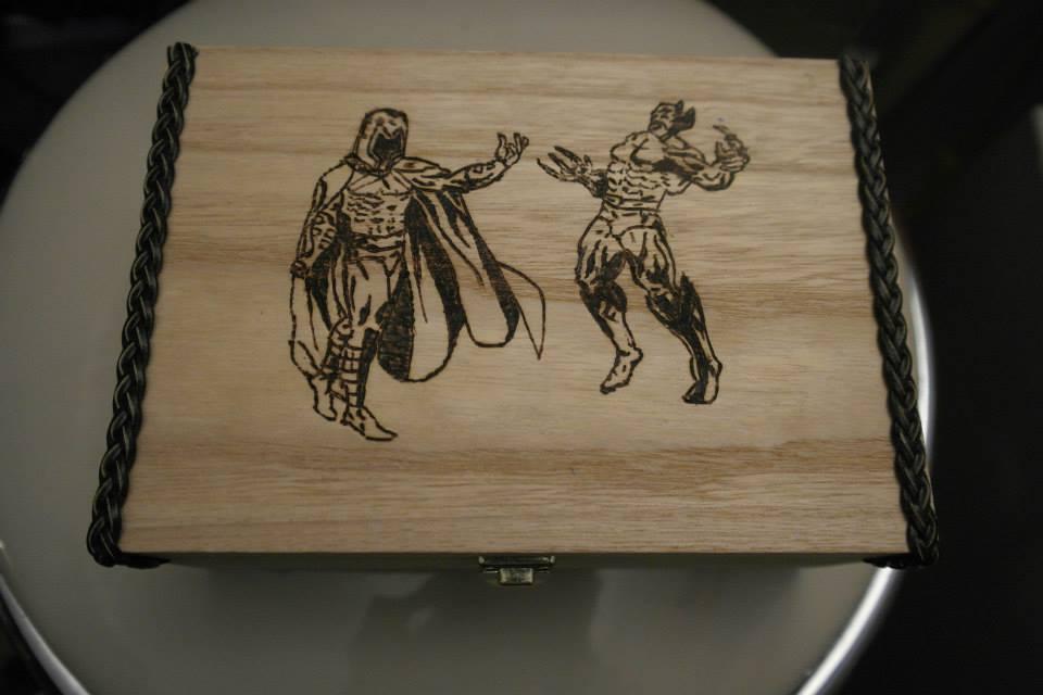 x-men Magneto vs. Wolverine by calypsoduvertfeu