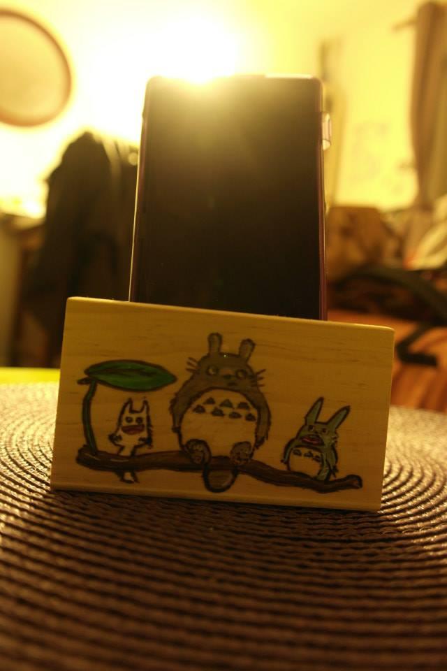 totoro arrangement phone by calypsoduvertfeu