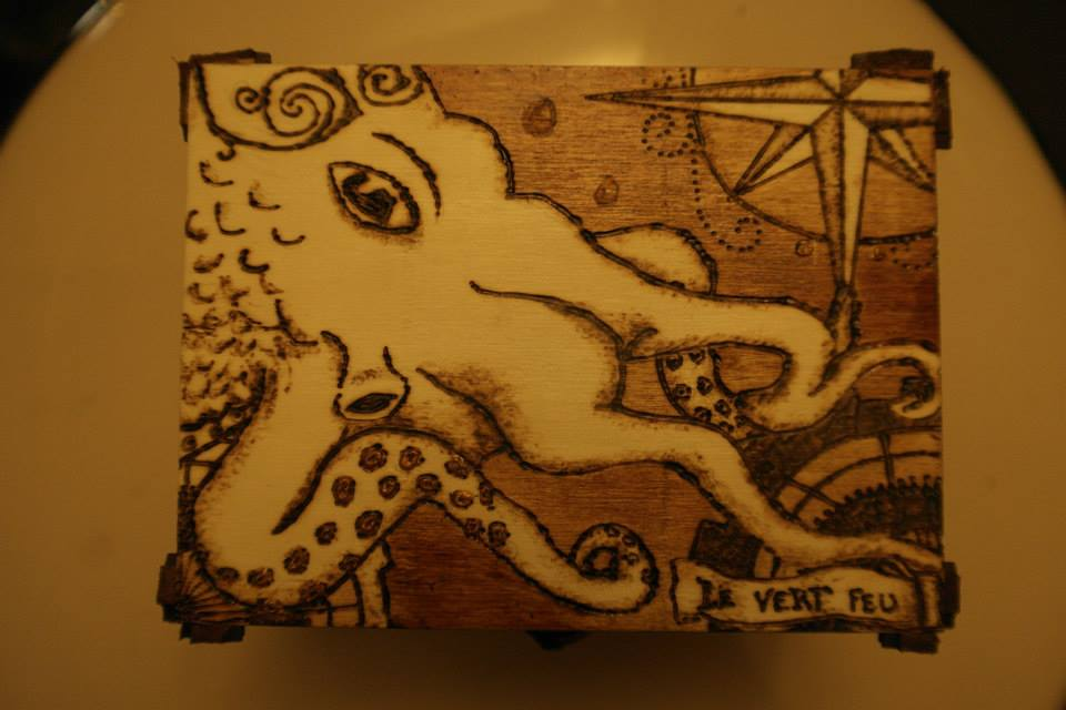 octopus box #2 -3 by calypsoduvertfeu