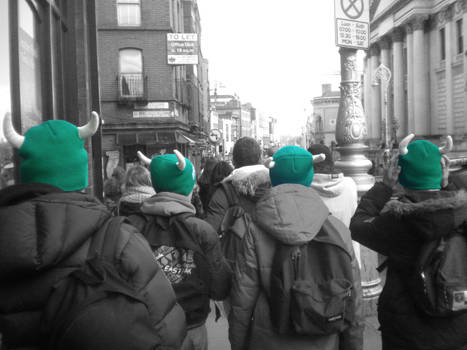 A trip in Ireland... and green hat!