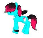 Shadow Scream -pony OC-