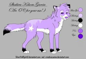 Gift Wolf Design For Shakira by xXNeon-HeartXx