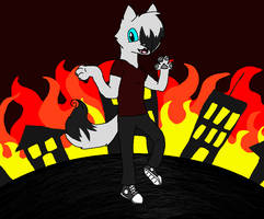 Lets Watch This City Burn by xXNeon-HeartXx