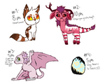 Yayyy Adoptables -ALL SOLD-