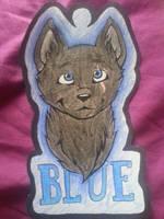 Blue Badge by xXNeon-HeartXx