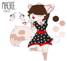 Machie the Pin-Up Kitty Girl