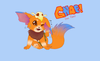 GNAR!! ... Has Fleas.