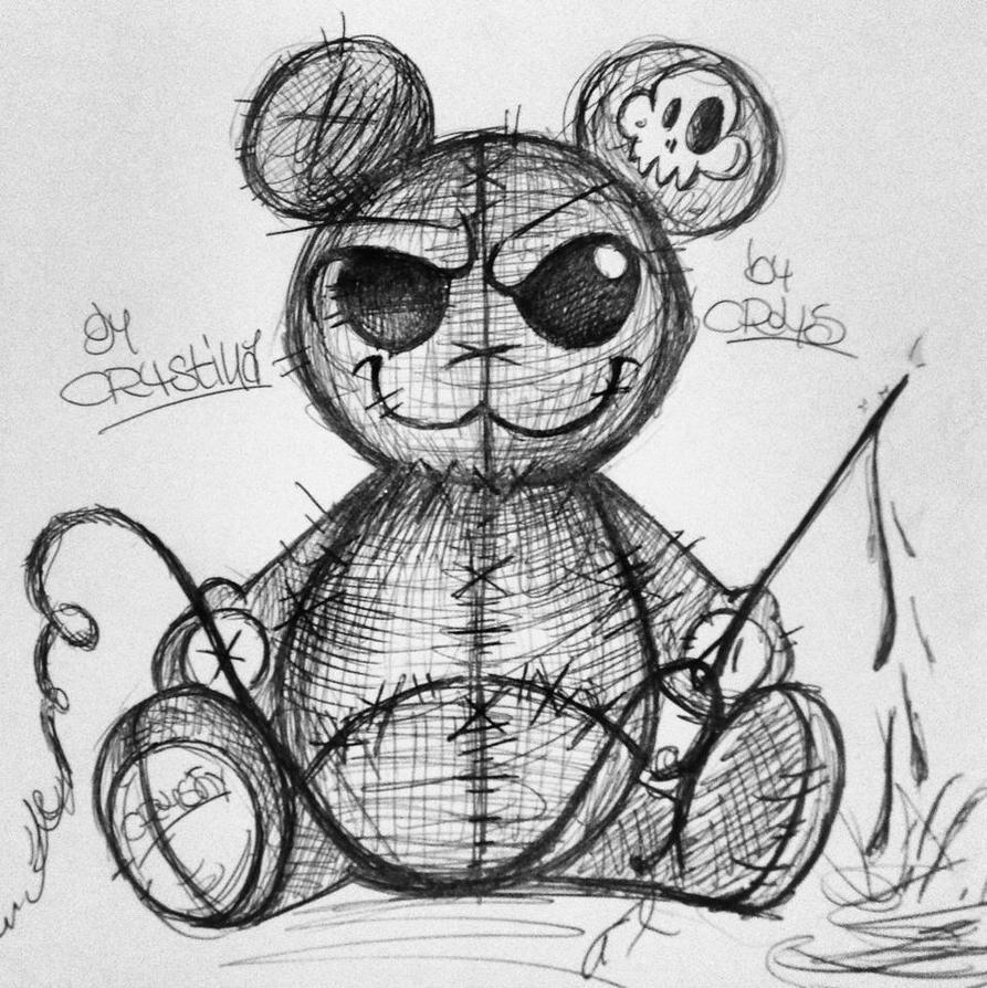 scary bear =) by chrysthi on DeviantArt