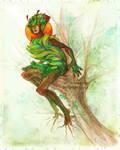 MYTHOS - Plant girl