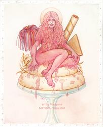 MYTHOS - Slime Girl by Vaelyane