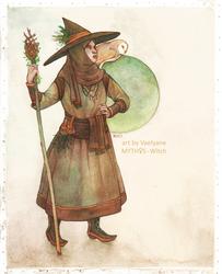 MYTHOS - Witch by Vaelyane