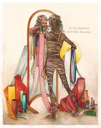 MYTHOS - Mummy by Vaelyane