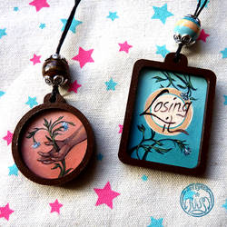 Necklaces - Piercing Flora and Losing it by Vaelyane