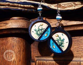 Earrings -  Estival blossoms by Vaelyane